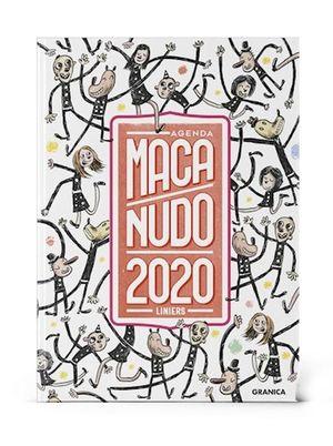 AGENDA ENCUADERNADA 2020 MACANUDO (MODELO PERSONAJES)