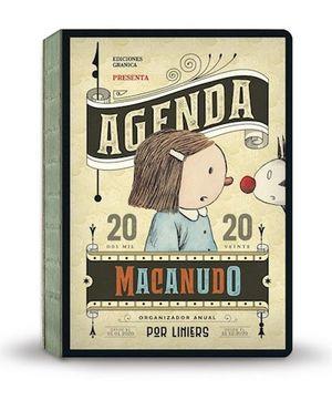 AGENDA ENCUADERNADA 2020 MACANUDO (MODELO BANDERA) (COSTURA A LA VISTA)