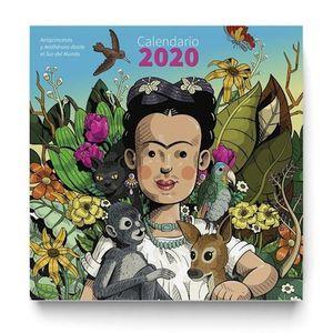 CALENDARIO DE PARED 2020 ANTIPRINCESAS Y ANTIHEROES DESDE EL SUR DEL MUNDO