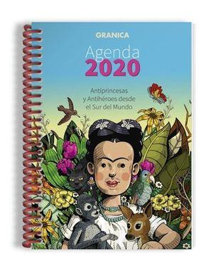 AGENDA ANILLADA 2020 ANTIPRINCESAS Y ANTIHEROES DESDE EL SUR DEL MUNDO