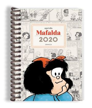 AGENDA ANILLADA 2020 MAFALDA (MODELO DIA POR PAGINA)