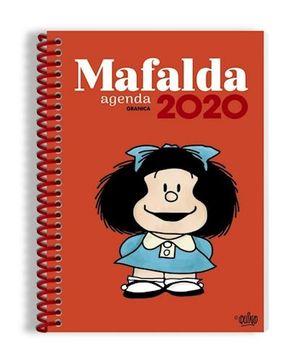 AGENDA ANILLADA 2020 MAFALDA (MODELO COLOR ROJO)