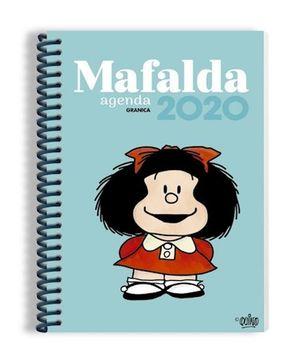 AGENDA ANILLADA 2020 MAFALDA (MODELO COLOR AZUL)
