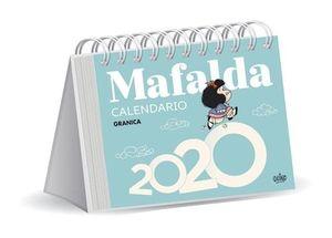 CALENDARIO DE ESCRITORIO 2020 MAFALDA (COLOR AZUL)