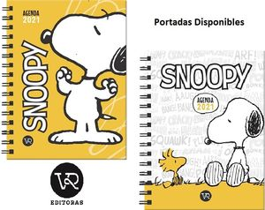 Agenda Snoopy 2021 (2 modelos)
