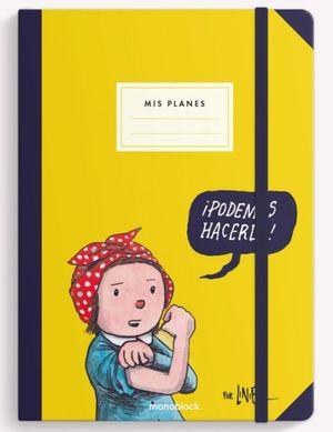 Cuaderno cosido Podemos Hacerlo (Tamaño mediano - hojas blancas)
