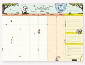 Planner Mensual Un Mes Macanudo