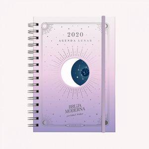 Agenda Lunar 2020 Atardecer (tamaño A5)