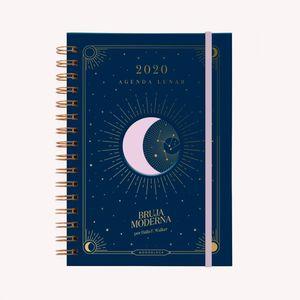 Agenda Lunar 2020 Medianoche (tamaño A5)