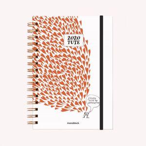 Agenda Tute 2020 Amor (tamaño A5)