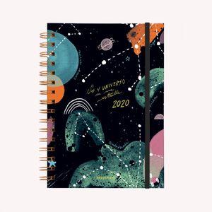Agenda 2020 El universo en una estrella (tamaño A5)