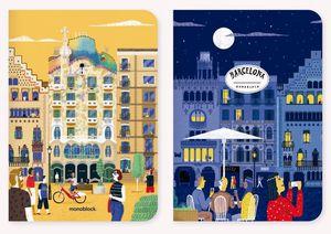 Libretas de Viaje Barcelona (2 pzas.)