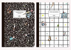 Libretas Macanudo Composition (Tamaño grande - 2 pzas.)