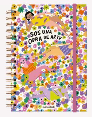 Cuaderno anillado Pepita Sandwich Obra de Arte (Tamaño A5 - hojas blancas)