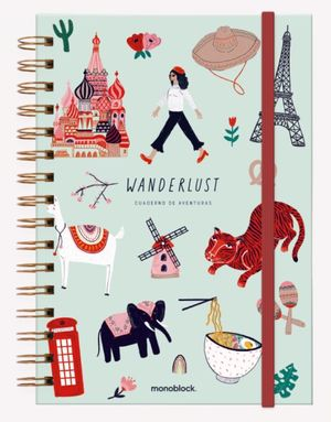 Cuaderno anillado Wanderlust (Tamaño A5 - hojas rayadas)