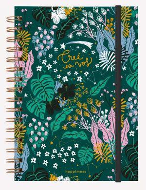 Cuaderno anillado Happimess Believe (Tamaño A5 - hojas blancas)