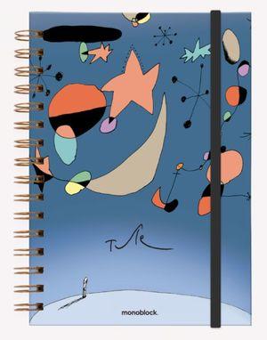 Cuaderno anillado Miró Tute (Tamaño A5 - hojas rayadas)