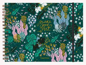 Cuaderno de Dibujo Happimess Believe / pd. (Tamaño A4 - hojas blancas)