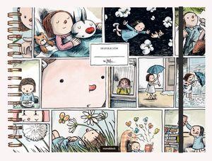 Cuaderno de Dibujo Macanudo Tira Enriqueta / pd. (Tamaño A4 - hojas blancas)