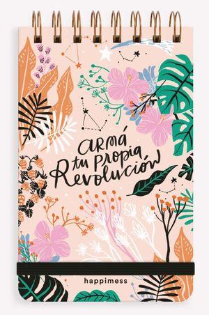Libreta Reporter Anillada Happimess Revolución (Hojas blancas)