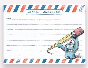 Notas Adhesivas Macanudo Olga