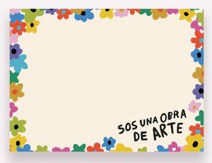 Notas Adhesivas Pepita Sandwich Obra de Arte