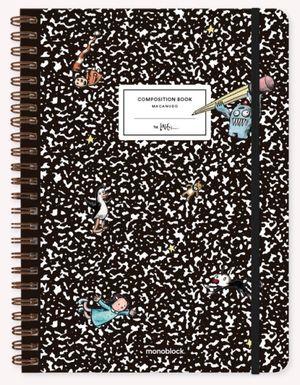 Cuaderno Macanudo Composition (Tamaño A4 - hojas rayadas)