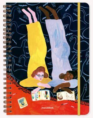 Cuaderno María Luque Foujita (Tamaño A4 - hojas rayadas)