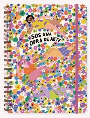 Cuaderno Pepita Sandwich Obra de Arte (Tamaño A4 - hojas rayadas)
