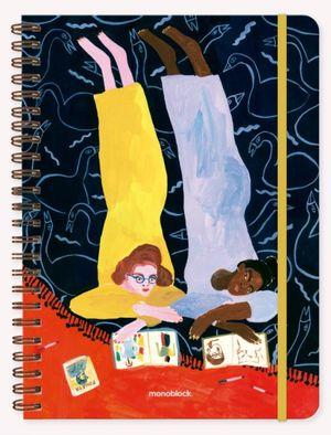 Cuaderno María Luque Foujita (Tamaño A4 - hojas cuadriculadas)