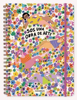 Cuaderno Pepita Sandwich Obra de Arte (Tamaño A4 - hojas cuadriculadas)