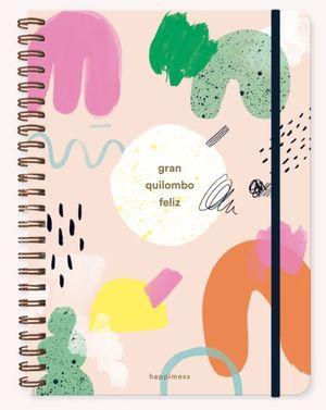 Cuaderno Happimess Quilombo (Tamaño A4 - hojas cuadriculadas)