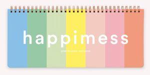 Planificador Semanal Anillado Happimess Colorblock