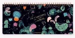 Planificador Semanal Anillado Happimess Universo