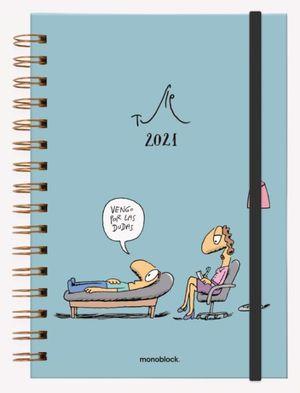 Agenda 2021 Tute Vengo por las dudas / pd. (Tamaño A5)