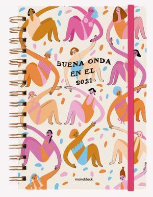 Agenda 2021 Pepita Sandwich Buena Onda / pd. (Tamaño A5)