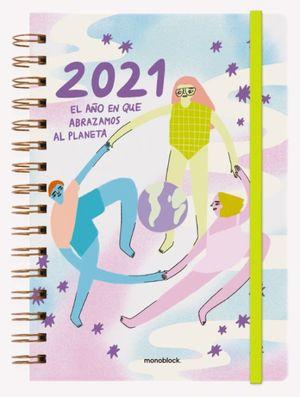 Agenda 2021 Pepita Sandwich El Año en que Abrazamos al Planeta / pd. (Tamaño A5)