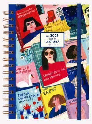 Agenda 2021 Club de Lectura Escritoras / pd. (Tamaño A5)