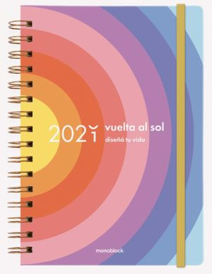 Agenda 2021 Planner Vuelta al Sol / pd. (Tamaño A5)