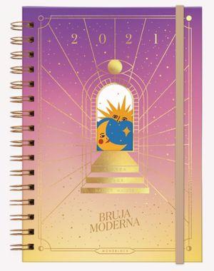 Agenda Solar 2021 Bruja Moderna Luz / pd. (Tamaño A5)