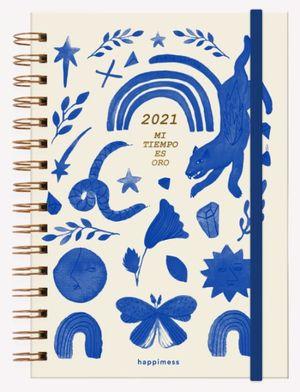 Agenda 2021 Happimess Mi tiempo es Oro / pd. (Tamaño A5)
