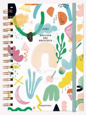 Agenda 2021 Happimess Artista del Arcoíris / pd. (Tamaño A5)