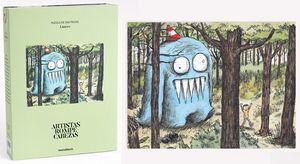 Rompecabezas Artista Olga en el bosque. Liniers (300 pzas.)