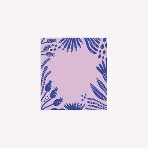 Notas Adhesivas Caribay / Sueño natural (Violeta / mediana)
