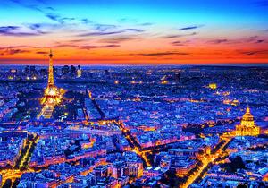 Rompecabezas Vista de París (1500 pzas.)