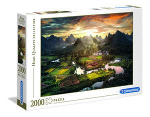 Rompecabezas Vista de China (2000 pzas.)