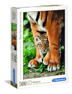 Rompecabezas Tigre de Bengala Cachorro (500 pzas.)
