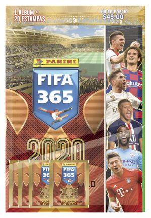 ALBUM PANINI DE FIFA 365 (CON 4 SOBRES)