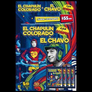 Album Panini El Chavo del ocho (con 20 estampas)