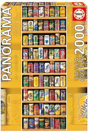 Rompecabezas Latas. Panorama (2000 Piezas)